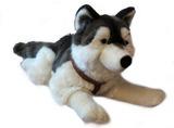 Lying Down Husky Dog Plush 60cm