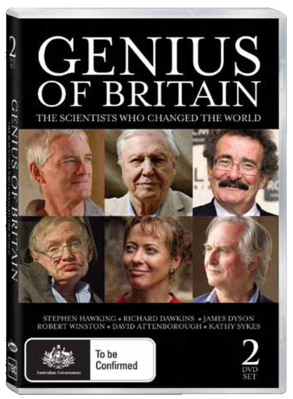 Genius of Britain (2 Disc Set) on DVD