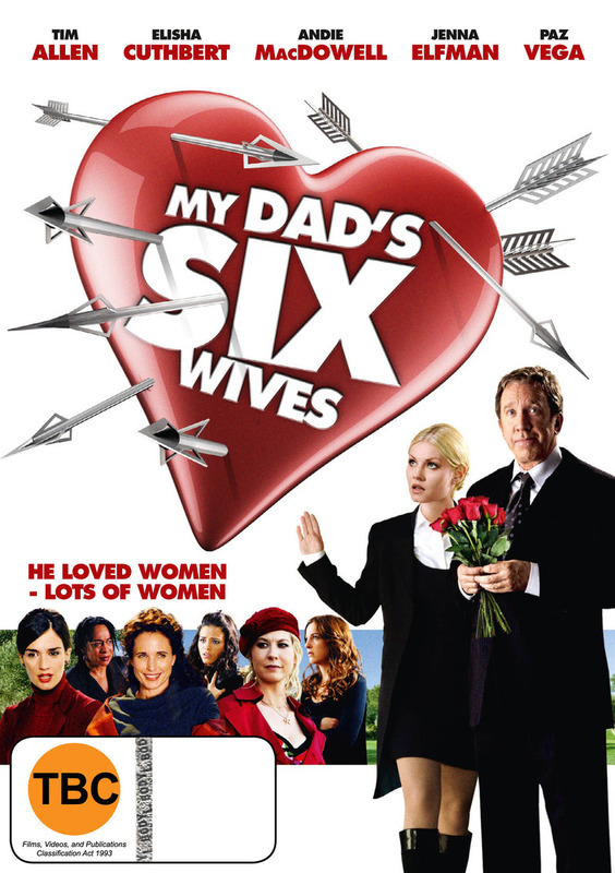 My Dad's Six Wives on DVD