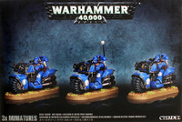 Warhammer 40,000 Space Marine Bike Squad