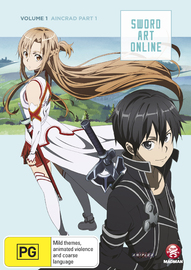 Sword Art Online Vol. 1: Aincrad Part 1 on DVD