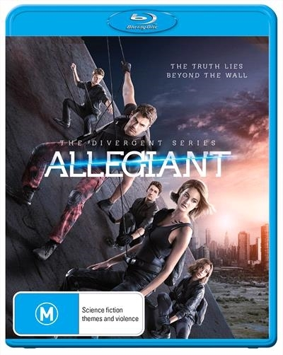 The Divergent Series: Allegiant on Blu-ray image