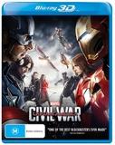 Captain America: Civil War (3D Blu-ray) DVD