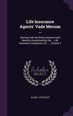 Life Insurance Agents' Vade Mecum ... by Allen J Flitcraft image