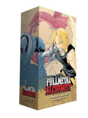 Fullmetal Alchemist Boxed Set (Complete Volumes 1-27) by Hiromu Arakawa