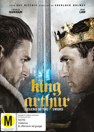 King Arthur: Legend of the Sword on DVD
