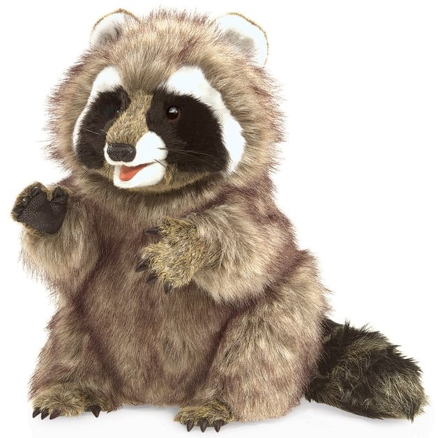 Folkmanis Hand Puppet - Raccoon