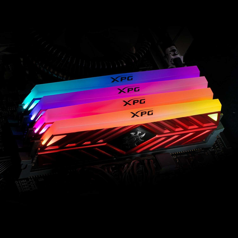 2x8GB Adata XPG Spectrix D41 DDR4 2666MHz RGB RAM image