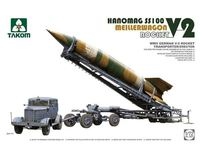 Takom: 1/72 WW.II German V-2 Rocket, Meillerwagon, Hanomag SS100 Model Kit