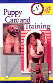 Quick and Easy Puppy Care and Training by The Pet Experts at T F H image