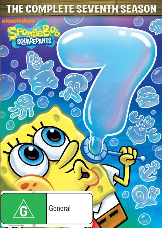 Spongebob Squarepants Season 7 on DVD