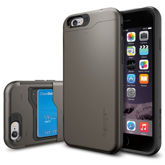 Spigen Slim Armour CS Case for iPhone 6 (Gunmetal)