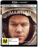 The Martian (4K UHD + UV) DVD