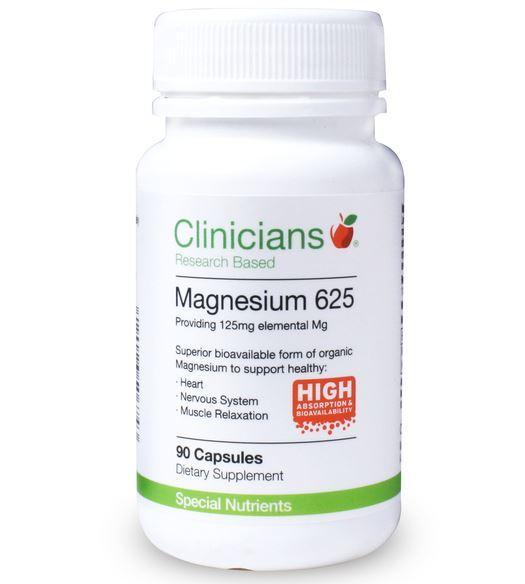 Clinicians Magnesium 625 (90 Capsules) image
