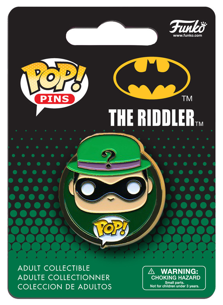 DC Comics - The Riddler Pop! Pin image