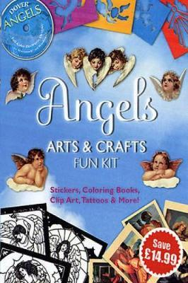 Angels Arts and Crafts Fun Kit by Dover image