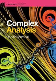 Cambridge Mathematical Textbooks by Donald E Marshall