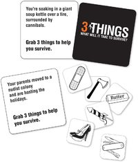 3 Things - Survival Party Game