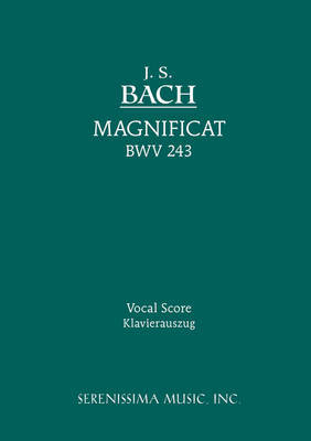 Magnificat, BWV 243 - Vocal Score image