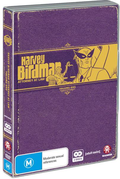 Harvey Birdman - Attorney At Law: Vol. 1 (2 Disc Set) on DVD