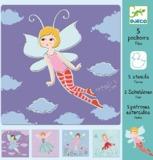 Djeco: Design - Fairies Stencils
