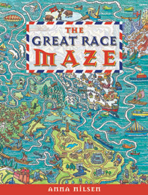 The Great Race Maze by Anna Nilsen image
