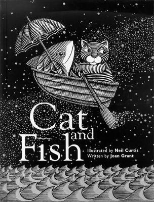 Cat and Fish by Joan Grant image