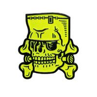 Sourpuss: Kustom Kreeps - Monster Skull Enamel Pin