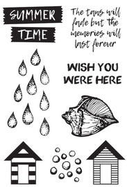 Kaisercraft: Summer Splash - Clear Acrylic Stamps