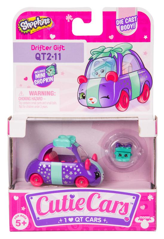 Shopkins: Cutie Car S2 - Single Pack (Assorted Designs)