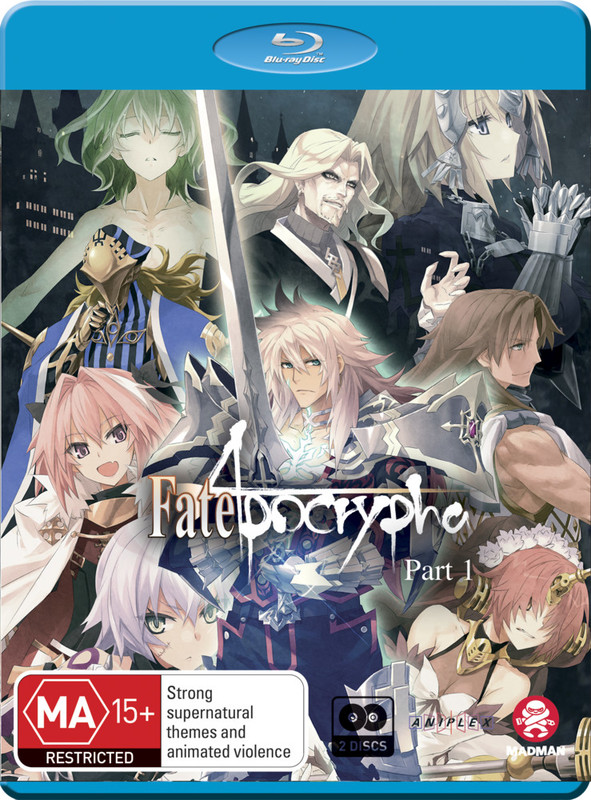 Fate/apocrypha: Part 1 (eps 1-12) on Blu-ray