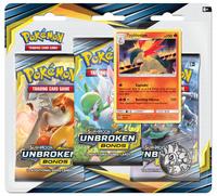 Pokemon TCG: Unbroken Bonds -Typhlosion 3-Pack Blister Set