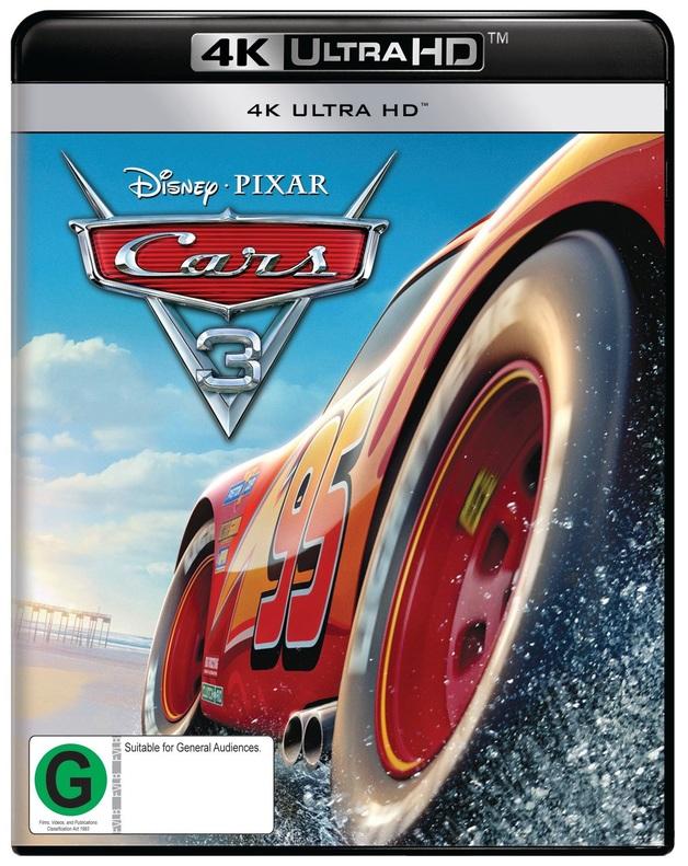 Cars 3 (4K UHD) on UHD Blu-ray