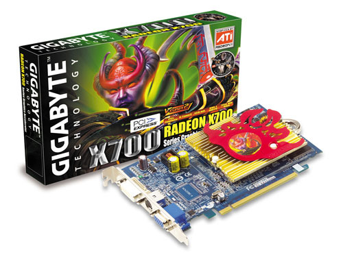Gigabyte Graphics Card Radeon X700 256MB PCIE