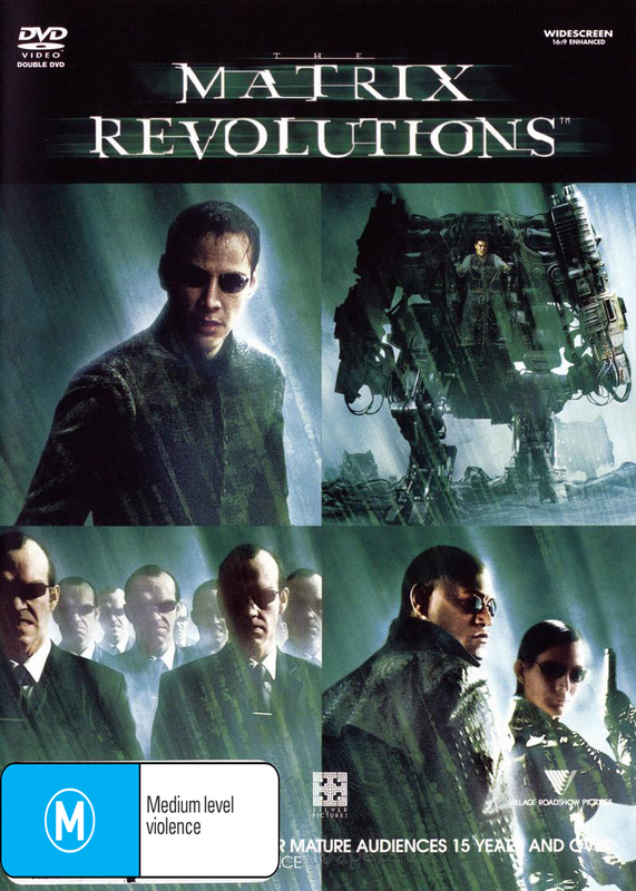 The Matrix - Revolutions on DVD