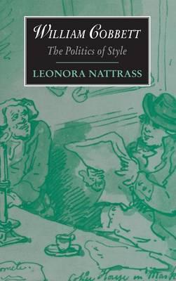 Cambridge Studies in Romanticism: Series Number 11 by Leonora Nattrass image