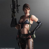 Metal Gear Solid 5 Play Arts Kai Quiet Action Figure