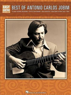 Best of Antonio Carlos Jobim for Easy Guitar by Antonio Carlos Jobim image