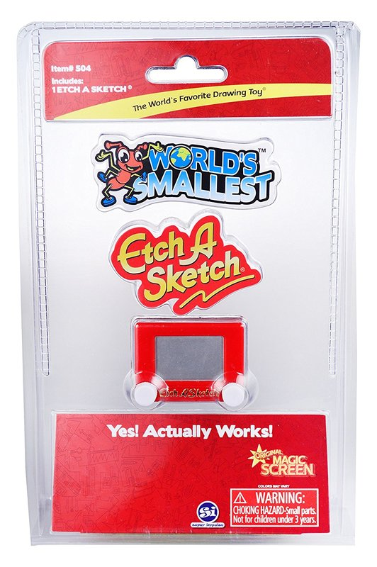 Worlds Smallest - Etch A Sketch