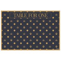 Fine Dining Pet Placemats - Table For One