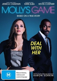 Molly's Game on DVD