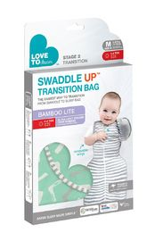 Love to Dream: Swaddle Up Transition Bag Bamboo Lite 0.2 Tog - Large