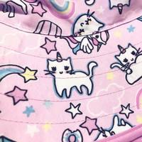 Banz Carewear: Reversible Sunhat - Cats & Unicorns (2 years)