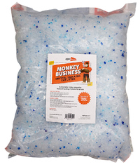 Monkey Business Cat Litter - Crystals (20L)
