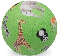 "Crocodile Creek 5"" Playground Ball - Wild Animals"