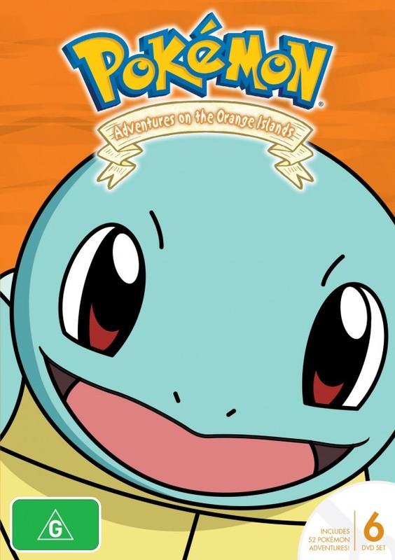 Pokemon - Season 2: Adventures on the Orange Islands on DVD