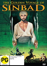 The Golden Voyage Of Sinbad on DVD