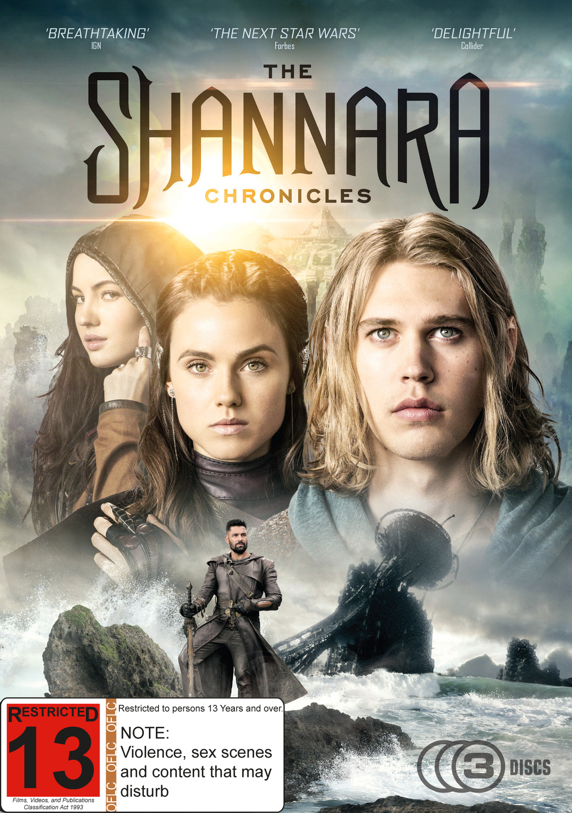 The Shannara Chronicles - The Complete First Season on DVD image