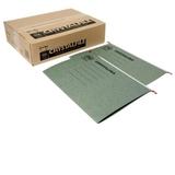 FM File Suspension Crystalfile A4 Green (50 Box)