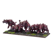 Kings of War Forces of the Abyss Hellhound Troop
